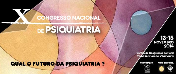 X Congresso Nacional de Psiquiatria
