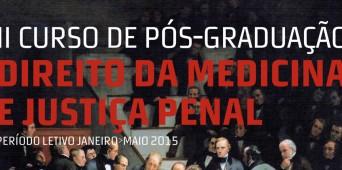 II Curso Pós-Graduado de Direito da Medicina e Justiça Penal
