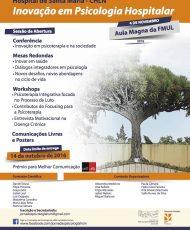 III Jornadas de Psicologia do Hospital de Santa Maria - CHLN