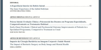 Revista de Psiquiatria e Saúde Mental Número 4